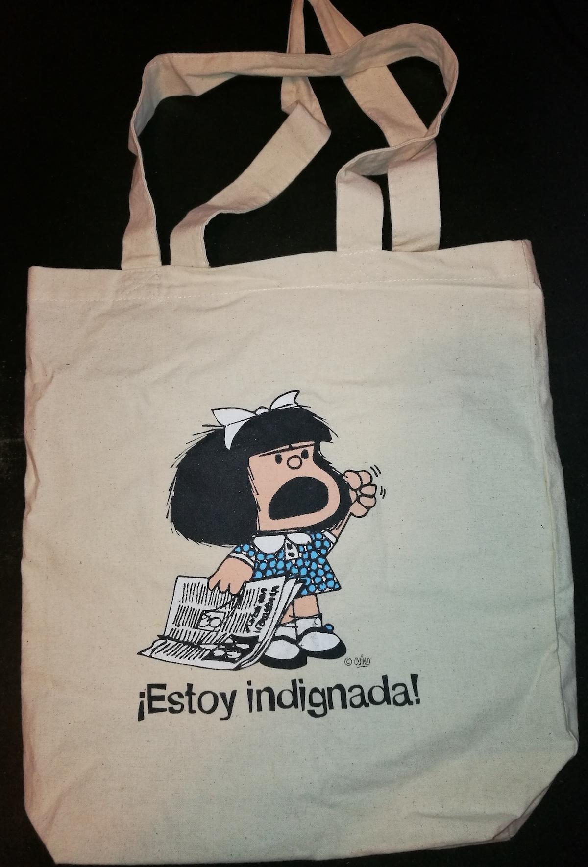 Mafalda. Quino. Indignação