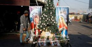 Rua de Bagdá em 23 de dezembro de 2013, Foto Vatican News