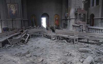 """Nagorno-Karabakh: """"Não é um conflito religioso"""", asseguram líderes da Igreja Ortodoxa Arménia"""
