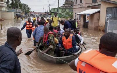 Mais de 19 mil desalojados devido às cheias no Gan