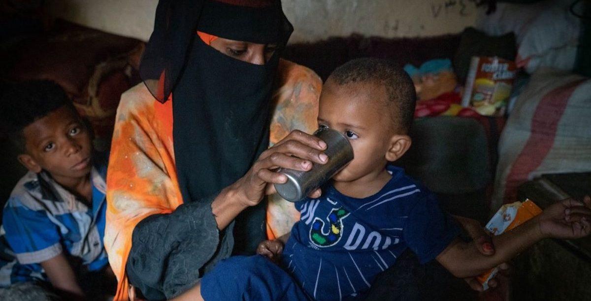 Iémen. Fome, Programa Alimentar Mundial. PAM
