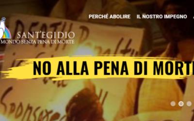 Comunidade de Sant'Egidio lança plataforma internacional contra pena de morte