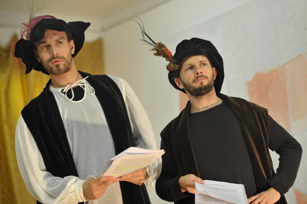 Comédia Aulegrafia. Jorge Ferreira de Vasconcelos. Teatro Maizum