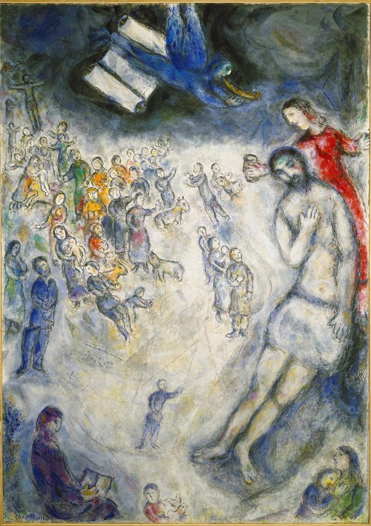 Marc Chagall, Job