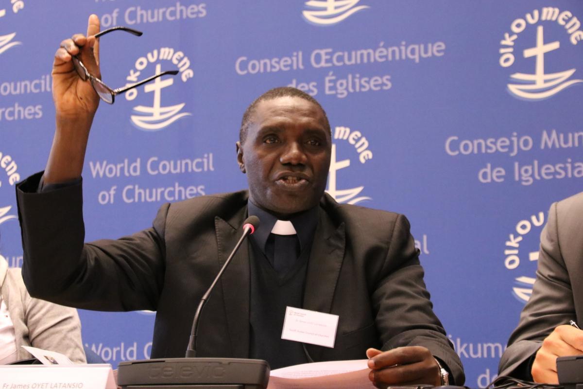 James Oyet Latansio, Sudão do Sul