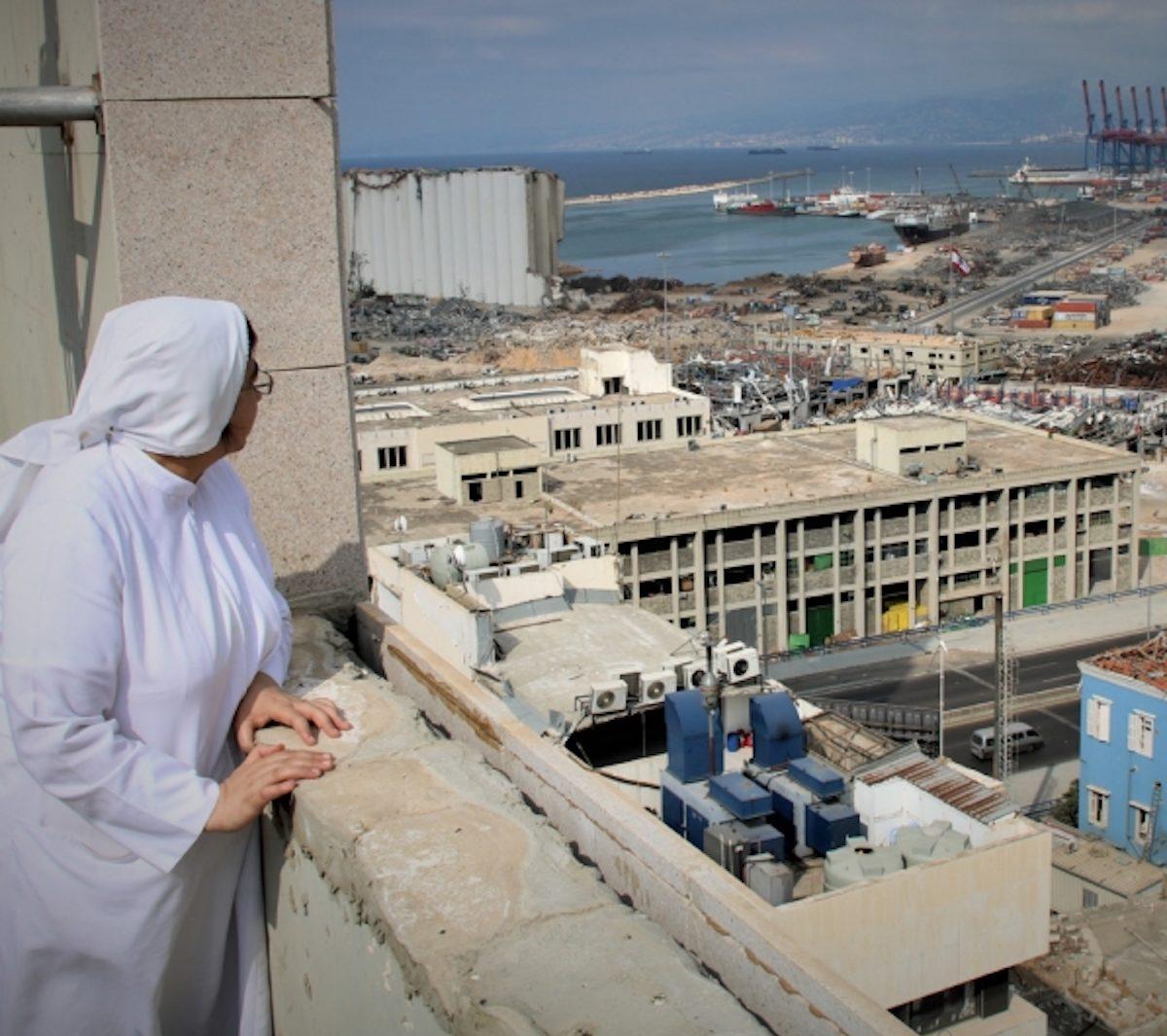Líbano. Beirute. Explosão Agosto 2020