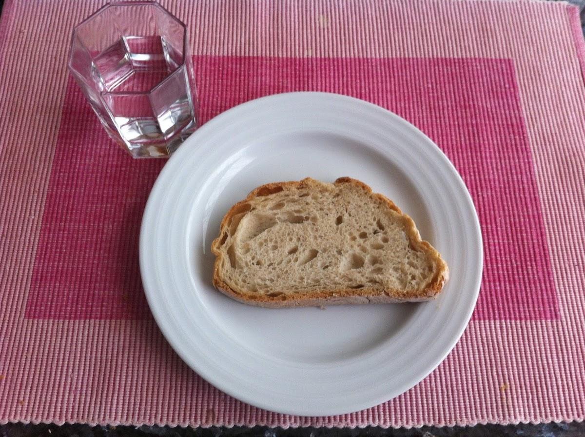 Pão e água