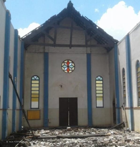 Missão de Muidumbe (Moçambique) destruída por ataques terroristas