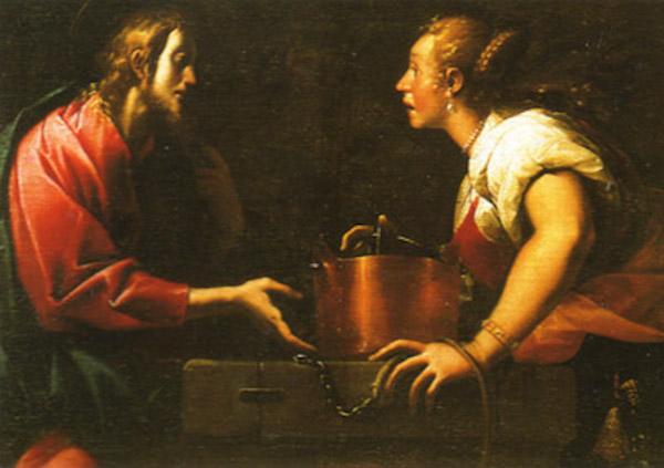 II Morazzone Cristo e a samaritana