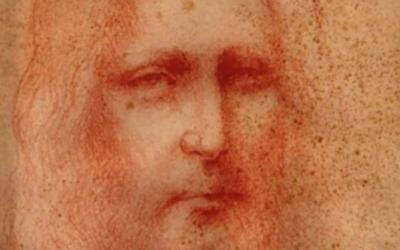 Descoberto esboço de retrato de Jesus atribuído a Leonardo da Vinci