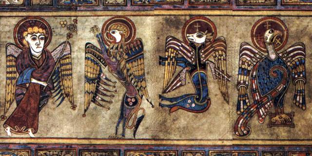 símbolos dos 4 evangelistas