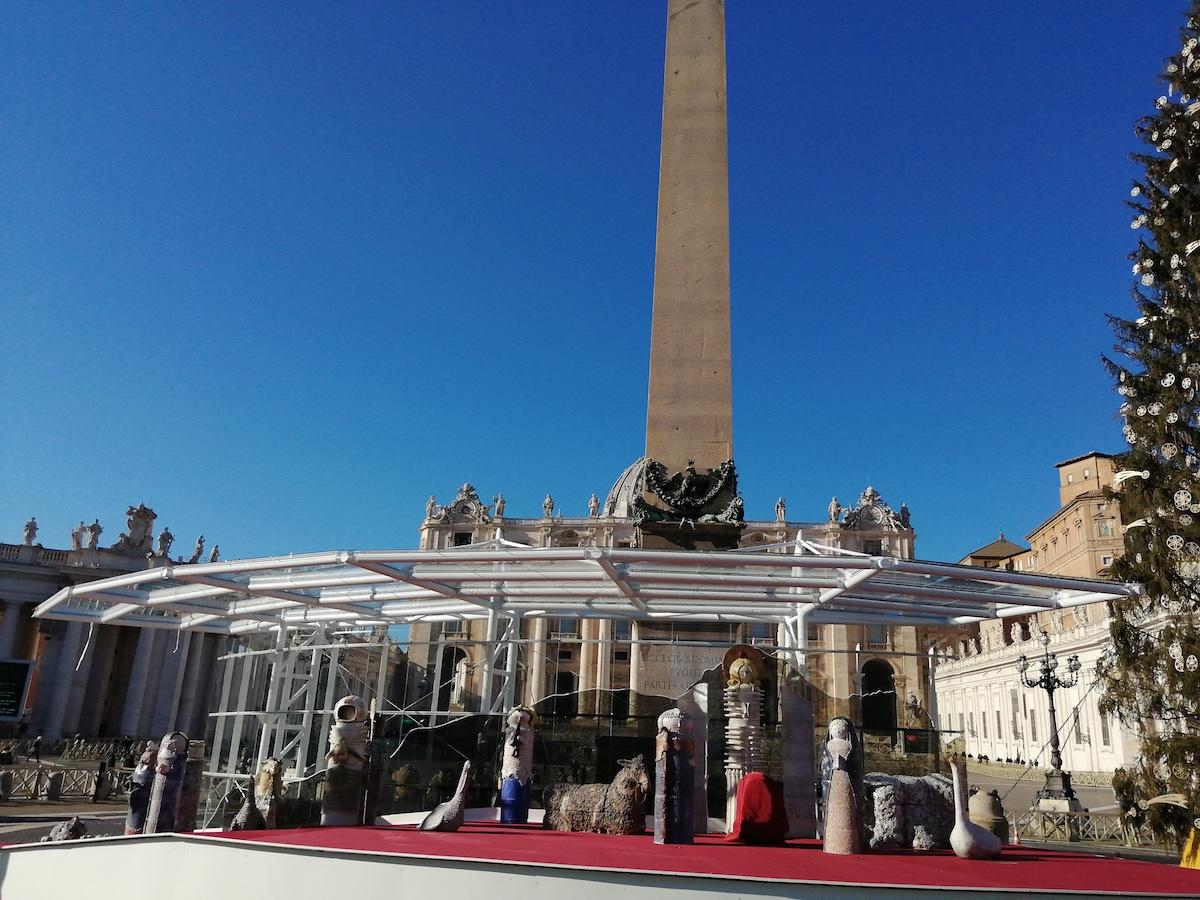Presépio, Praça de São Pedro, Vaticano, Natal