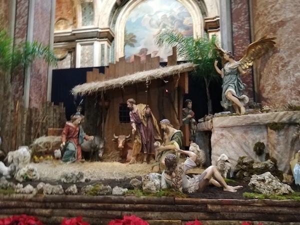 Presépio 2020 na Basílica de São Pedro