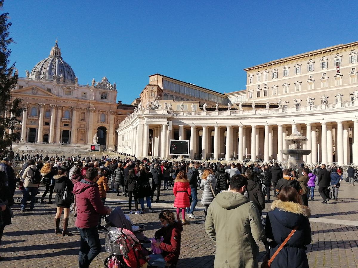 Papa Francisco, Angelus, Domingo da Alegria. 13 Dezembro 2020. Vaticano. Praça de São Pedro