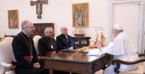 Audiência Papa Francisco CEP