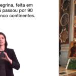 Símbolos da JMJ explicados em braile e Língua Gestual Portuguesa