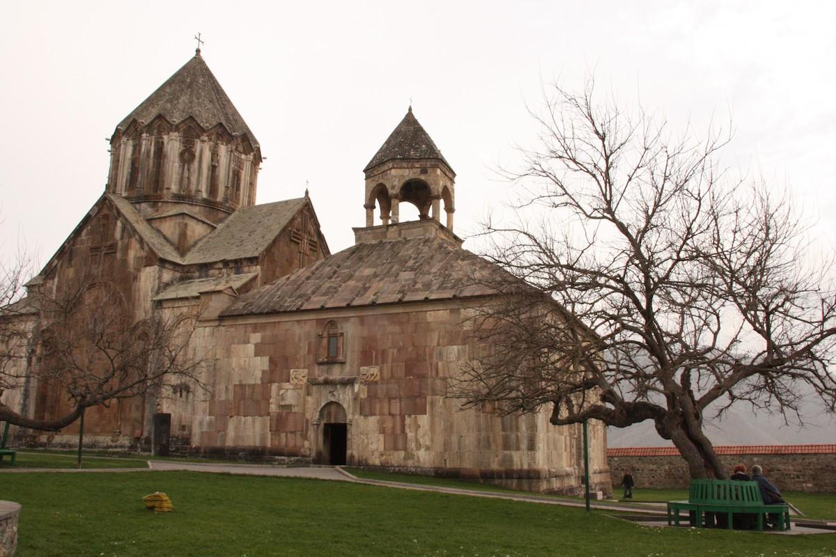 Mosteiro de Gandzasar, em Vank (Nagorno-Karabakh, Arménia/Azerbaijão)