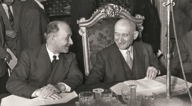 Jean Monet e Robert Schuman
