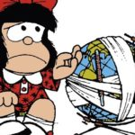 A pacifista Mafalda e as armas nucleares