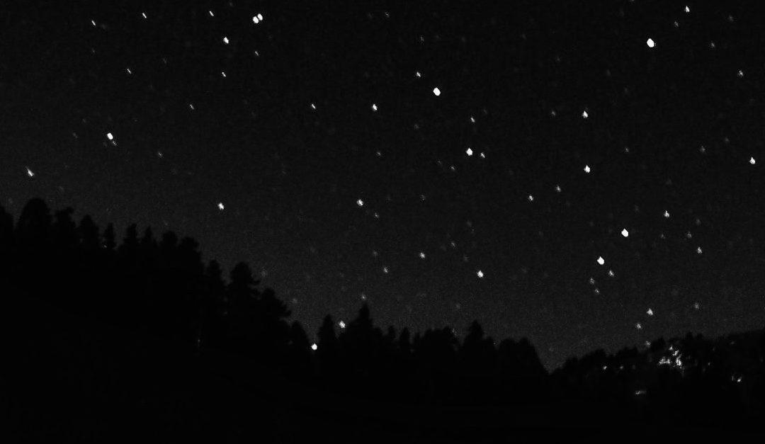 quem atravessa inseguro a noite, sabe o valor da estrela