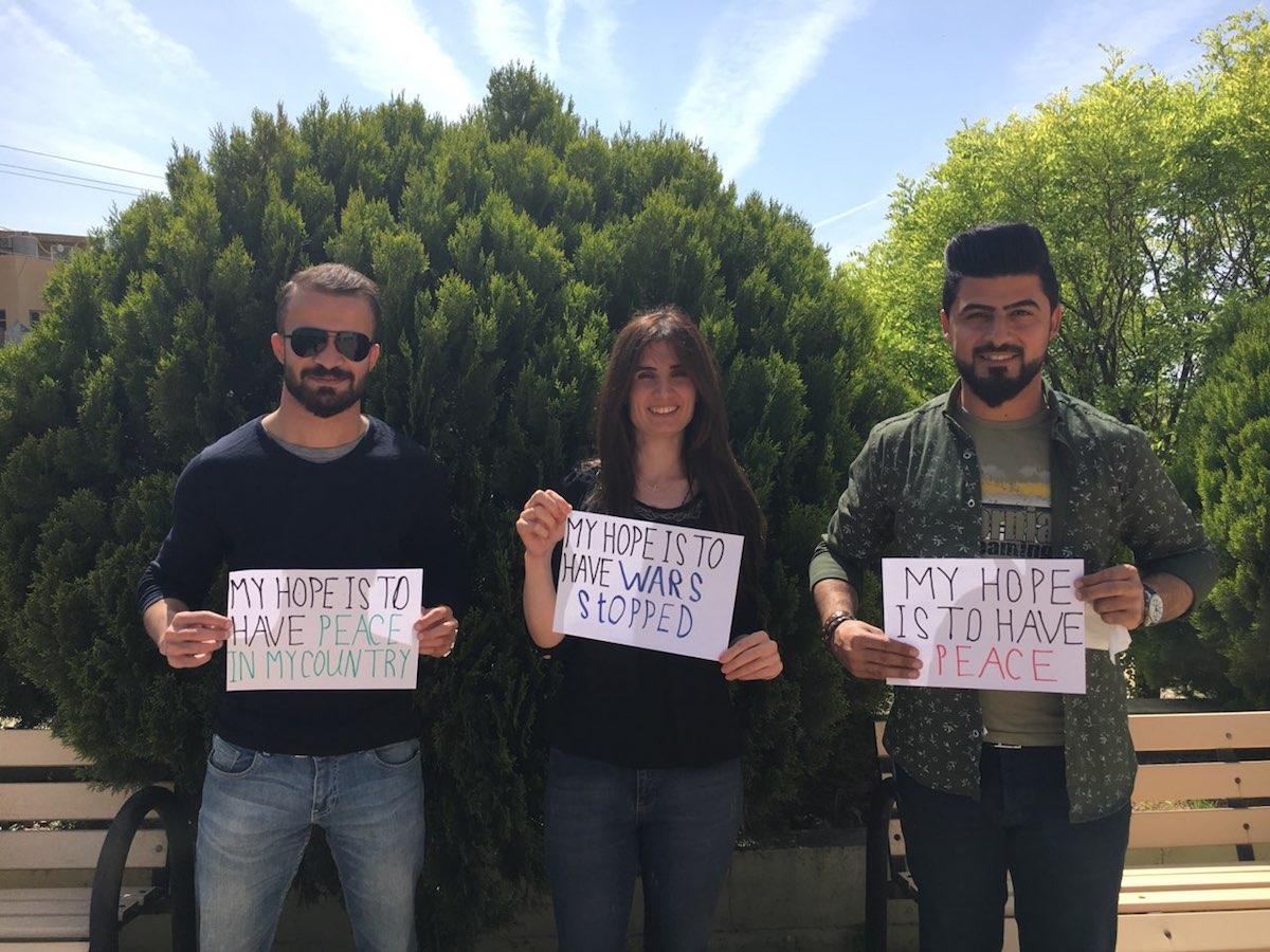 Curdistão, Iraque, JRS, Irene Guia, Refugiados