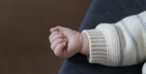 Bebé, Crianças. Mão