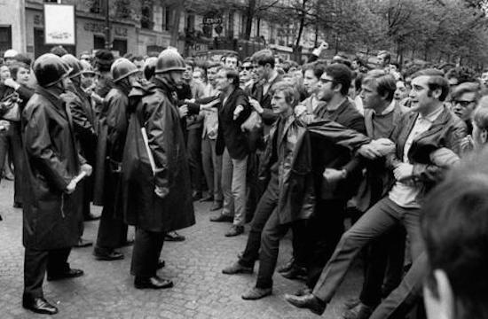 Maio 68, Estudantes, Paris
