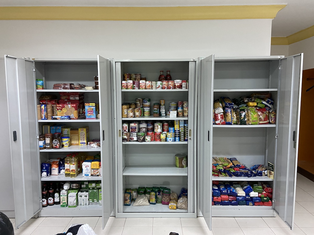 Banco de Alimentos, Instituto Politécnico de Bragança, pobreza, solidariedade, comida