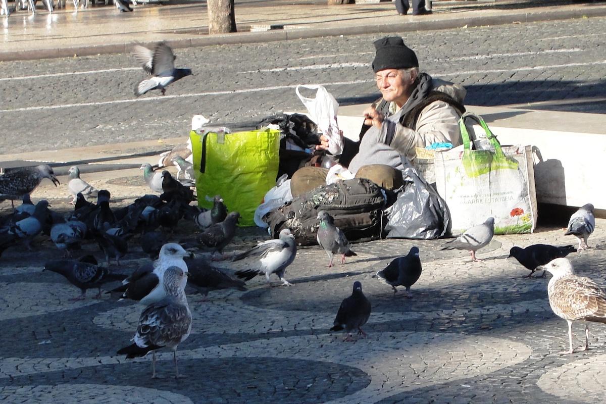 Pobreza, sem-abrigo, Lisboa, rua,
