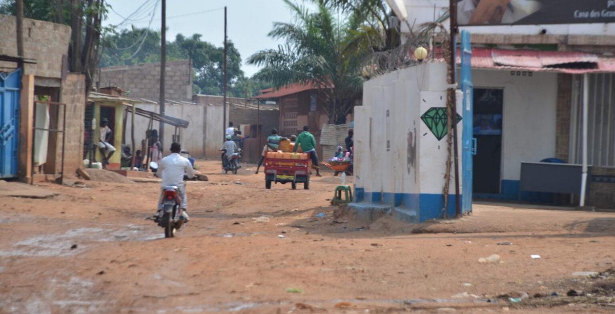 Cafunfo, Lunda Norte, Angola.