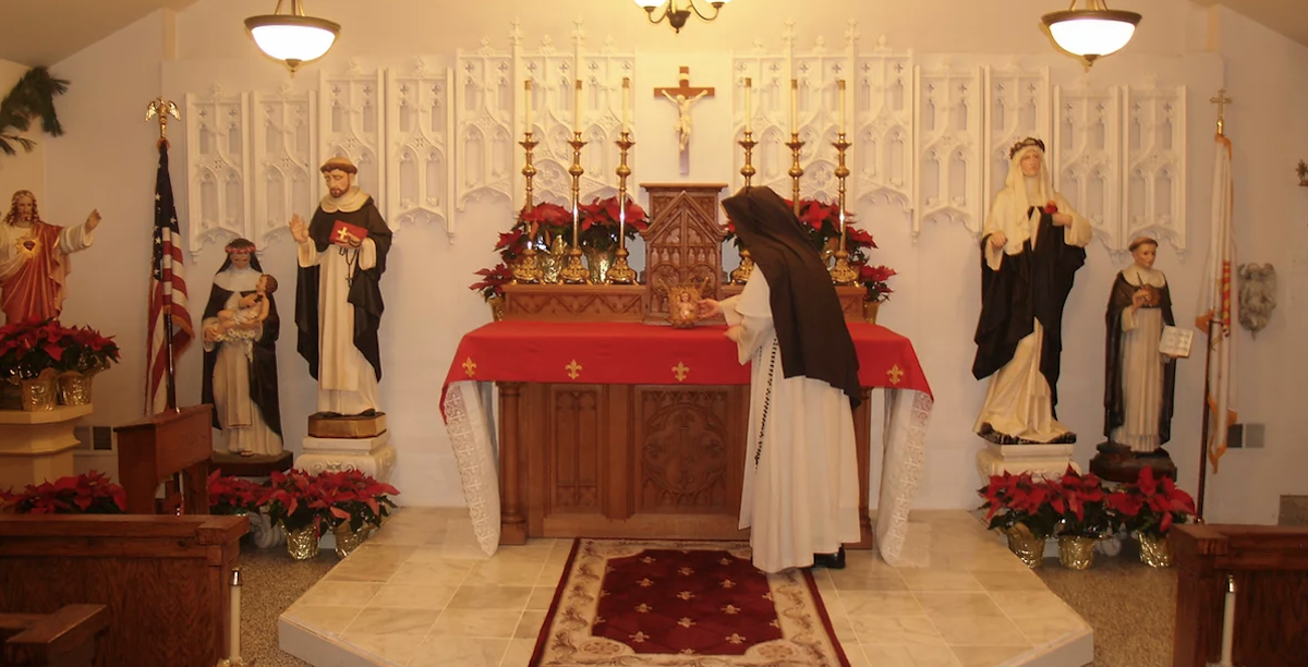 Religiosas, Dominicanas, Freiras, Tradicionalistas