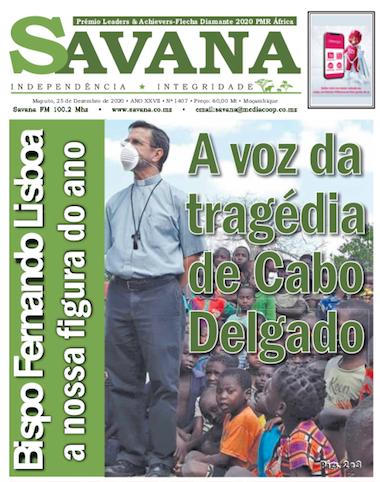 Savana, Fernando Luiz Lisboa, Pemba, Moçambique, Bispo