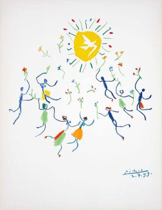 Dança da Paz, Pablo Picasso