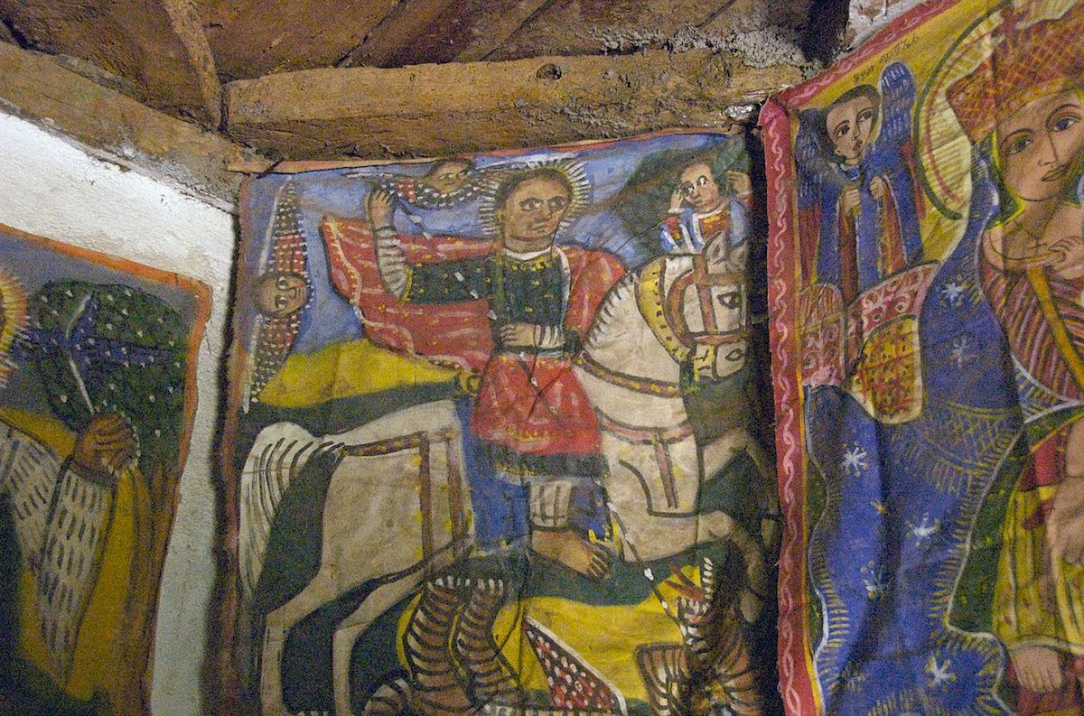 Arte, Etiópia, Cristianismo, Igreja Ortodoxa, Ícones