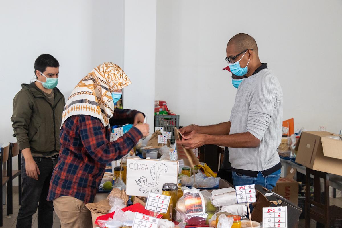 Máscara, Pandemia, Voluntariado, Solidariedade, Braga, Catarina Soares Barbosa