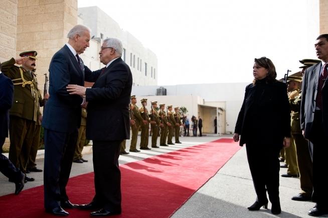 Joe Biden, Palestina, Mahmoud Abbas,