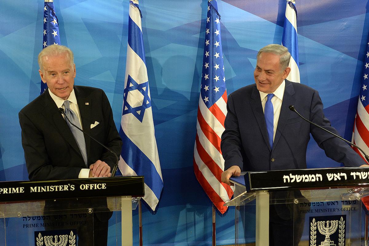 Joe Biden, Benjamin Netanyahu, Israel,