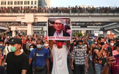 Birmânia: militares tentam vergar a resistência popular ao golpe