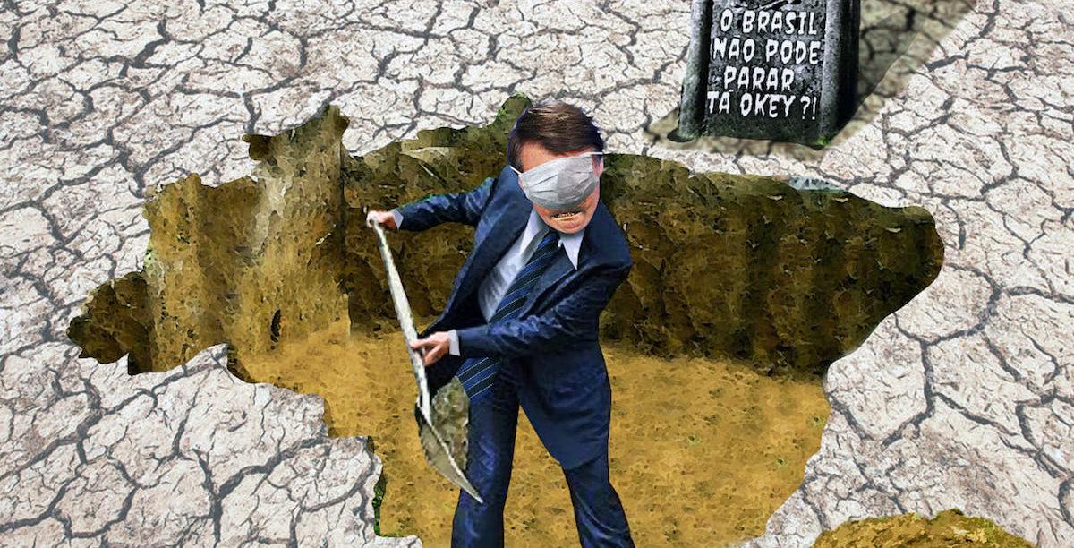 Brasil, Bolsonaro, pandemia, Ildo Nascimento
