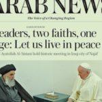 A visita do Papa ao Iraque com repercussão mundial na imprensa