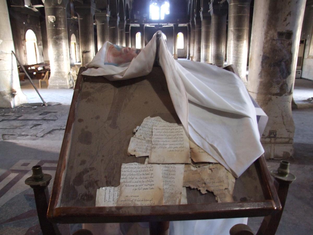 Catedral da Imaculada Conceição, Qaraqosh, Iraque, Jose Manuel Rosendo
