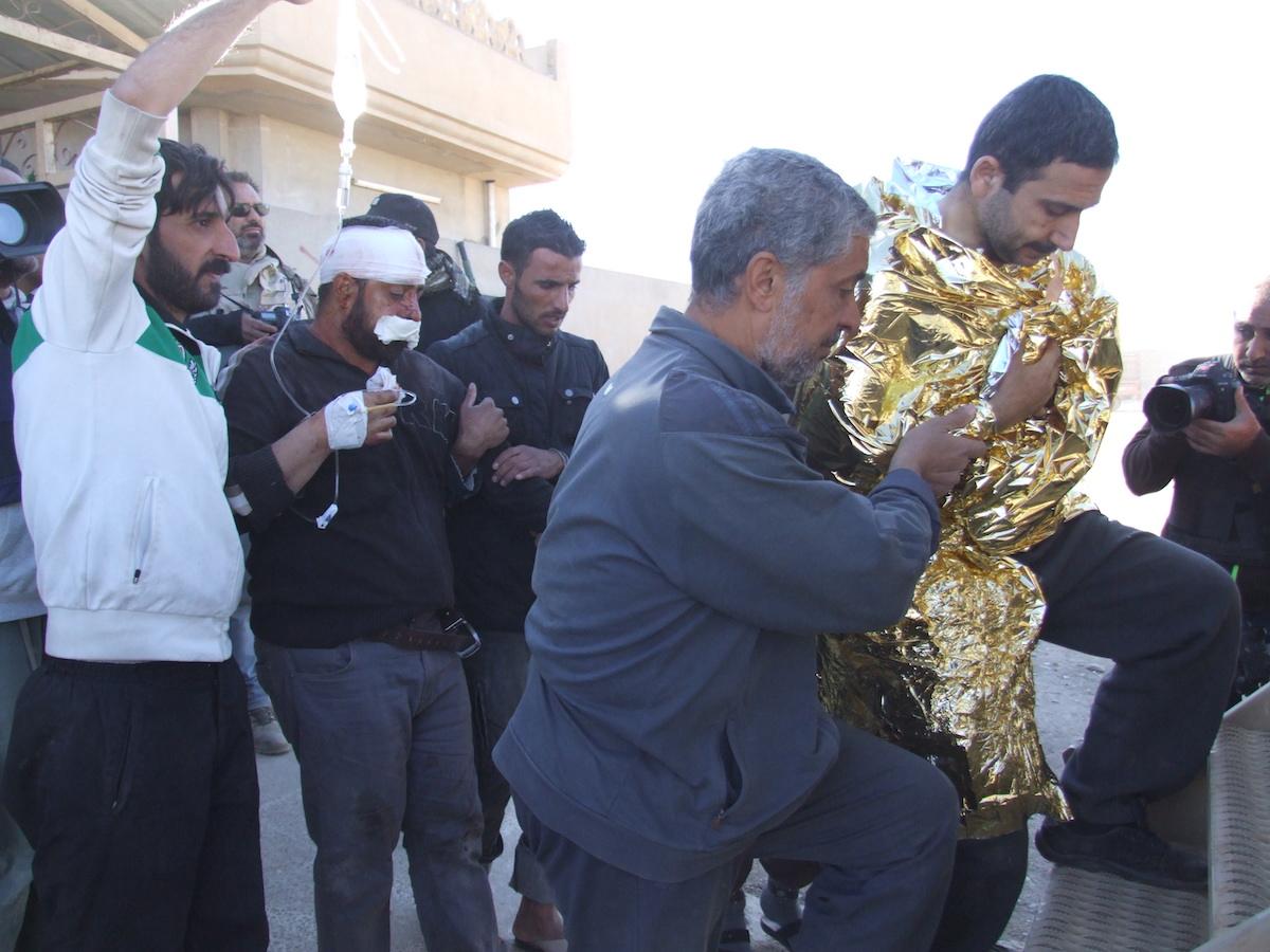 ataques em Gogjeli (Mossul), Iraque, José Manuel Rosendo