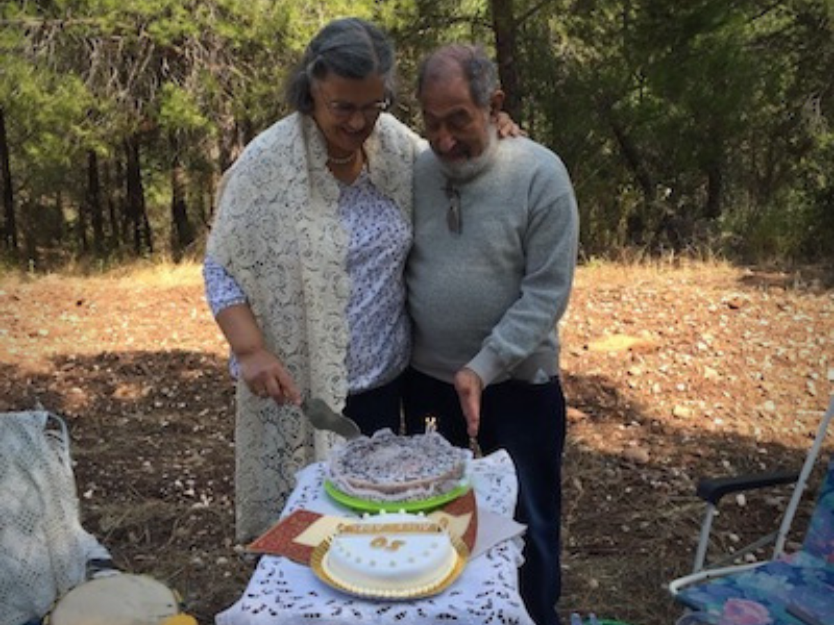 Alice Caldeira Cabral e Adel Sidarus