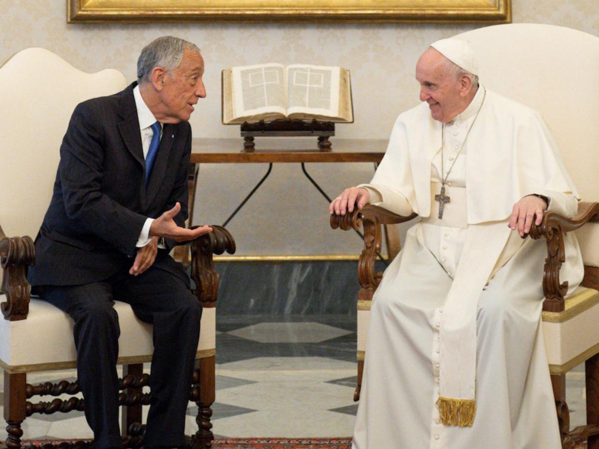 papa francisco marcelo rebelo de sousa direitos reservados