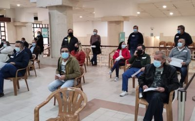 Comunidade Hindu cede espaço para centro de vacinação contra a covid-19