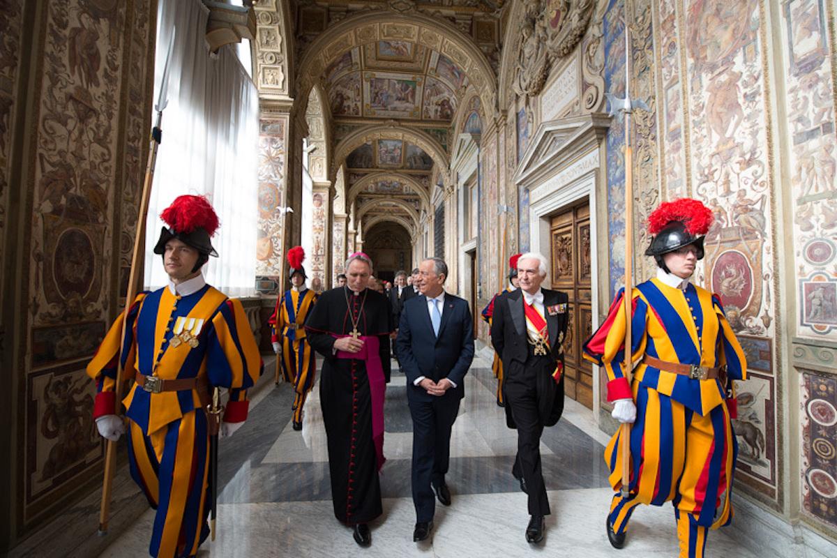 Marcelo Rebelo de Sousa Papa Francisco Foro Presidencia da Republica