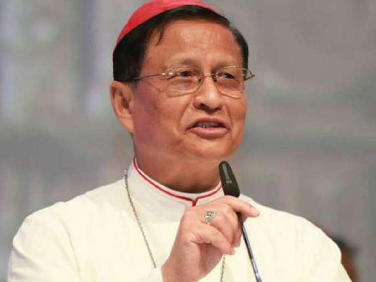 cardeal charles maung bo myanmar foto diocese de yangon