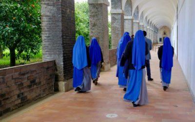 """O espanto das freiras da Cartuxa: """"Vimos as fotos na internet, mas estar aqui é outra coisa"""""""