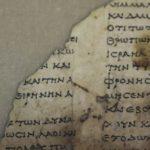 Fragmentos de manuscritos bíblicos com 2 mil anos descobertos em Israel