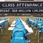 168 milhões de crianças sem aulas há um ano